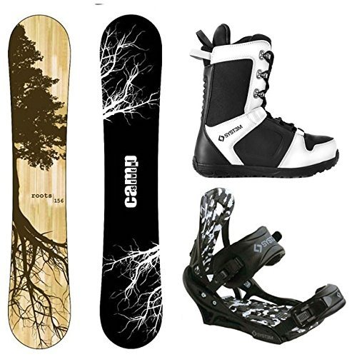 ふるさと納税 スノーボードCamp and Seven Roots CRC Roots Snowboard Snowboard and APX Men's Complete Snowboard Package (159 cm, Boot Size 8), 革財布シルバー専門店 Days Art:4b1f105d --- airmodconsu.dominiotemporario.com