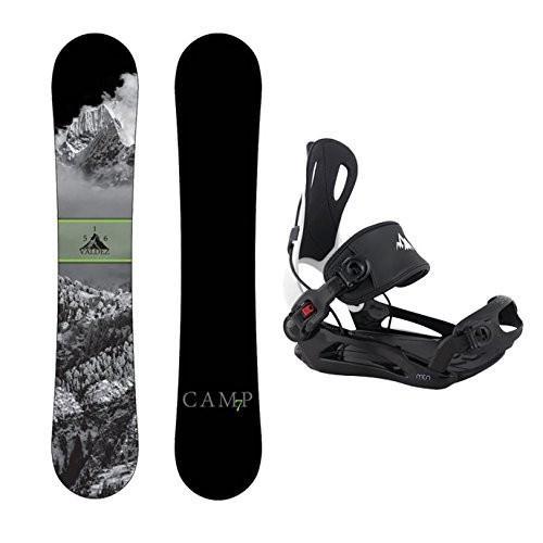 経典 スノーボードCamp Seven Package Valdez Snowboard 158 cm Wide-System MTN Binding Large, 南勢町 07aeb501