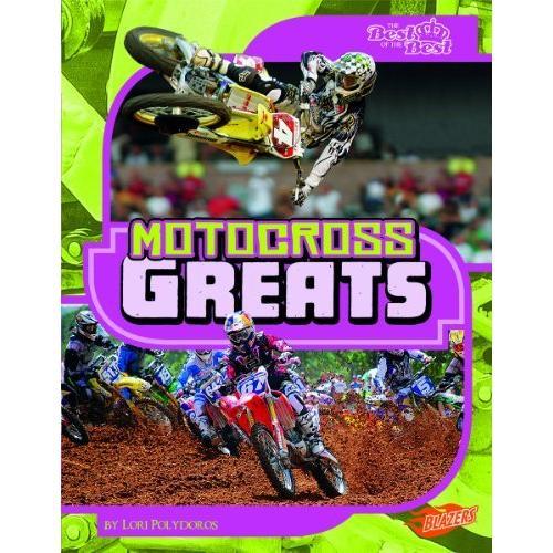海外製絵本 知育 英語 Motocross Greats (The Best of the Best)