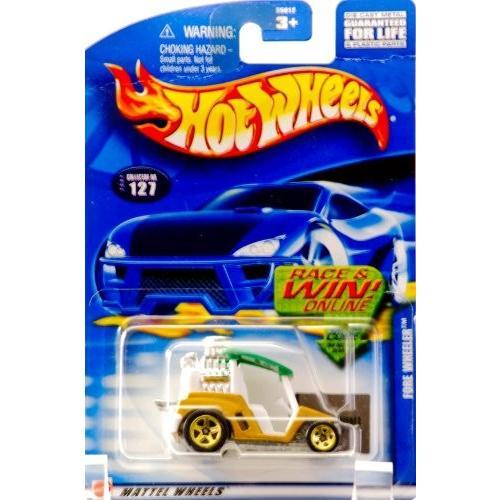 ホットウィール マテル ミニカー 55012 Hot Wheels Fore Wheeler 2002 #127 1:64 Scale|maniacs-shop