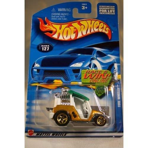 ホットウィール マテル ミニカー 55012 Hot Wheels Fore Wheeler 2002 #127 1:64 Scale|maniacs-shop|02