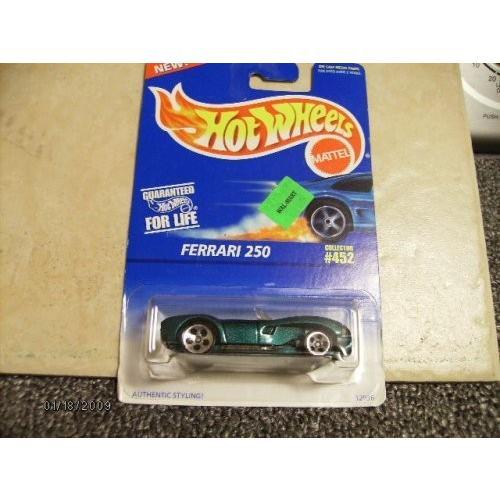 ホットウィール マテル ミニカー collector#452 Hot Wheels Ferrari 250 #452 5 Dot Wheels 1:64 Scale|maniacs-shop