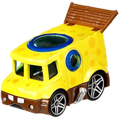 ホットウィール マテル ミニカー FLJ21 Hot Wheels Spongebob Vehicle, 1:64 Scale|maniacs-shop