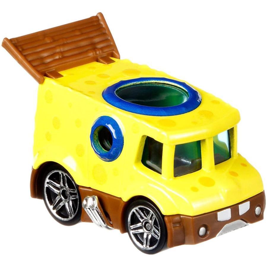 ホットウィール マテル ミニカー FLJ21 Hot Wheels Spongebob Vehicle, 1:64 Scale|maniacs-shop|03