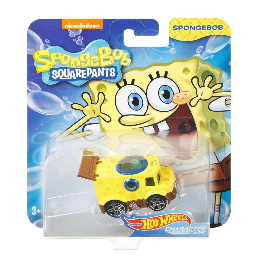 ホットウィール マテル ミニカー FLJ21 Hot Wheels Spongebob Vehicle, 1:64 Scale|maniacs-shop|04