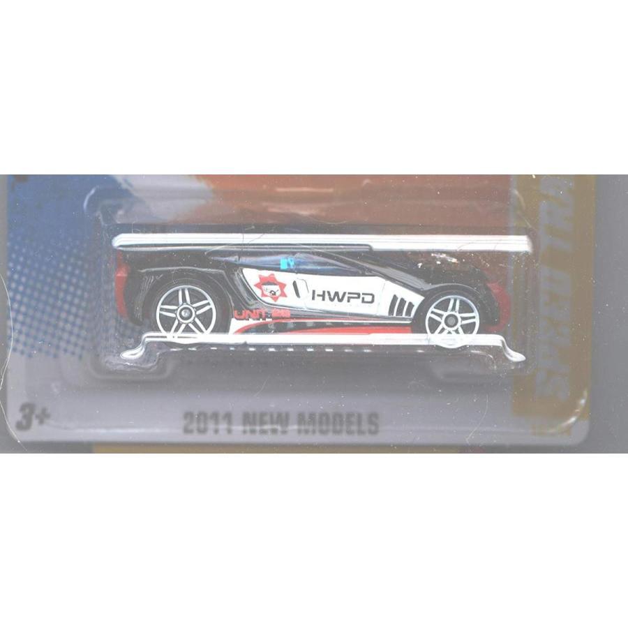 ホットウィール マテル ミニカー 43224-2434 Hot Wheels 2011-015 New Models Speed Trap BLACK 1:64 S|maniacs-shop|02