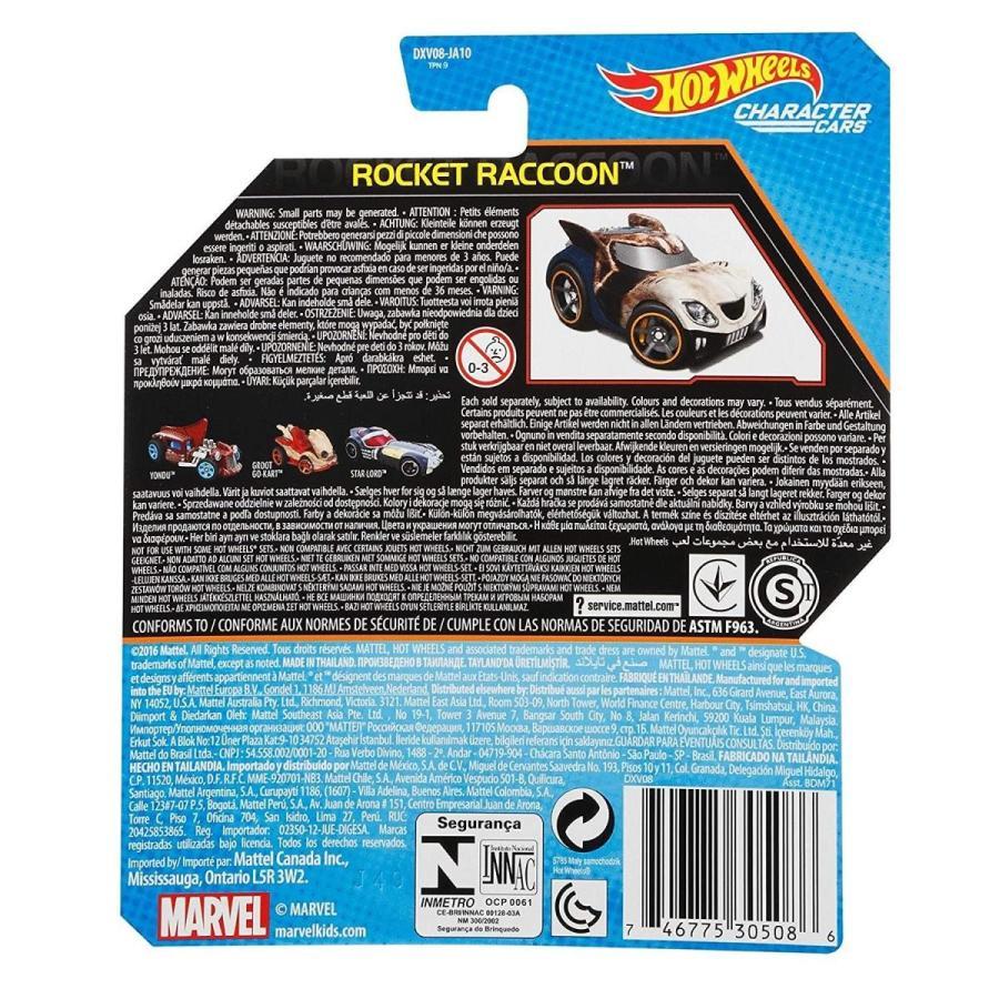 ホットウィール マテル ミニカー DXV08-0910 Hot Wheel 1:64 Marvel Character Car Guardians of the G maniacs-shop 02