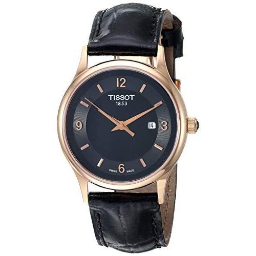 高質 当店1年保証 ティソTissot (Model: Womens Dress Dream Swiss 18K Quartz Steel And 18K Gold Dress Watch (Model: T9142104605700), Camelot:1bf4071b --- airmodconsu.dominiotemporario.com