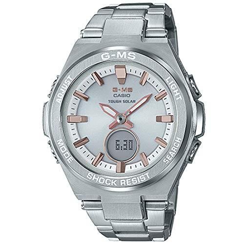 お気に入り 当店1年保証 カシオLadies' Casio Baby-G G-MS Stainless Steel Watch MSGS200D-7A, 調理道具専門店 エモーノ 1b756b78