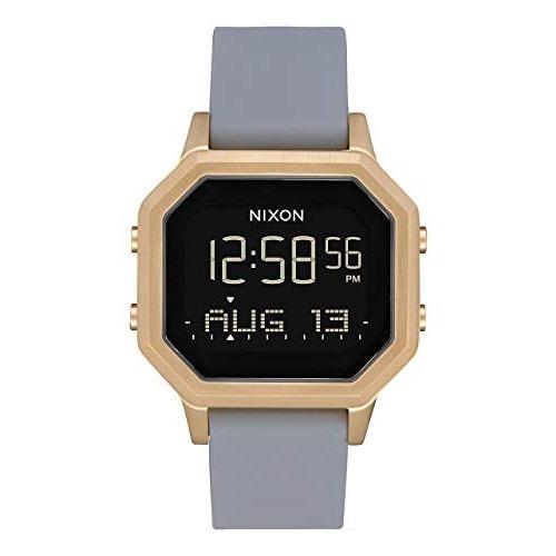 ベストセラー 当店1年保証 ニクソンNixon Women's Siren SS Digital Watch Light Gold Gray 36mm, しあわせ牧場マルシェ ff443100