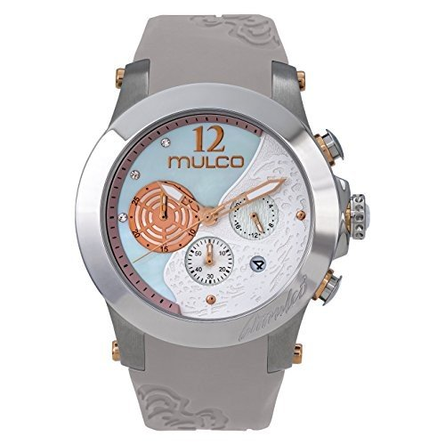 アンマーショップ 当店1年保証 マルコMulco Wind Rock Quartz Multifuncion Movement Women's Watch | Mother of Pearl Sundial with Rose Gold an, 花と緑 a52f4dc4