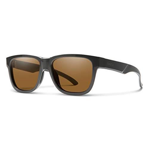 『1年保証』 スミスSmith Lowdown Slim 2 Chromapop Sunglasses, Charcoal, Chromapop Brown, 海外グルメ食品のIGM da383d55