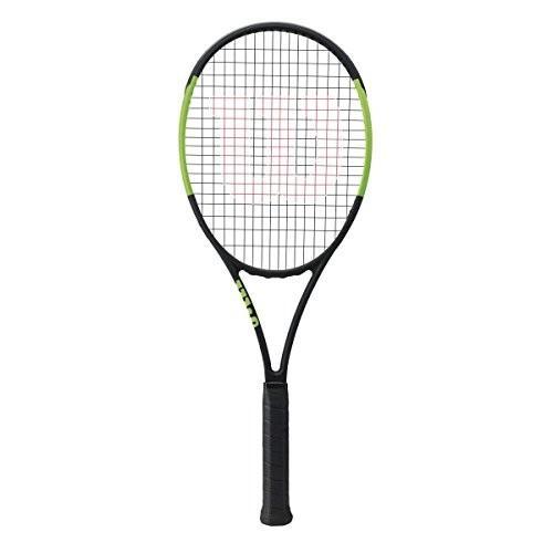 完売 テニスWilson CV Blade 98S CV (Countervail) Green/Black Tennis with Racquet String (4 1/8 Grip) Strung with Silver Tennis Racket String, Ys factory:830df37c --- airmodconsu.dominiotemporario.com
