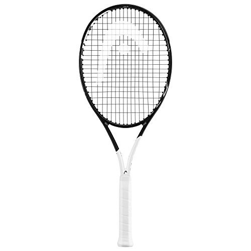 【レビューを書けば送料当店負担】 テニスHEAD Graphene 360 R Speed MP Midplus 16x19 (Best Black Strung/White Tennis Racquet (4 1/2