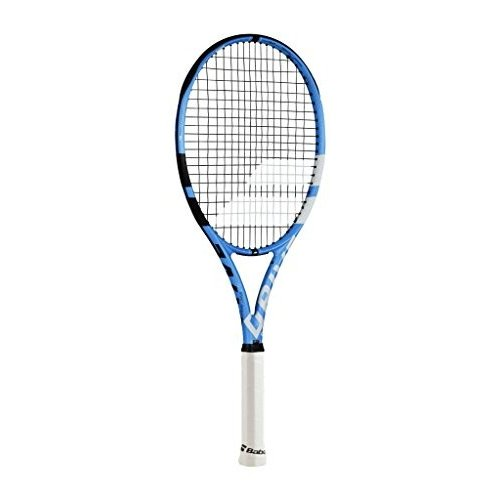 独創的 テニスBabolat テニスBabolat Pure Lightweight Drive Lite Black/Blue/White Tennis String Racquet (4 1/8