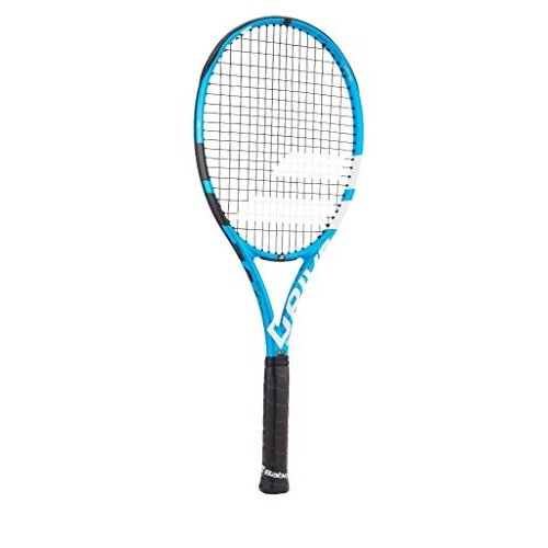 【現品限り一斉値下げ!】 テニスBabolat Pure Pink Drive Team Drive All Black/Blue/White Tennis Racquet (4 1/4