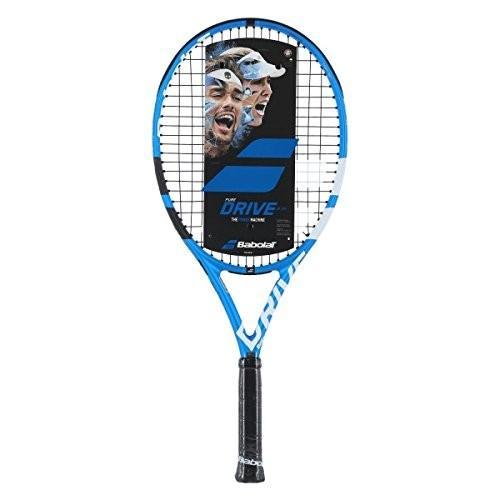 2019年最新海外 テニスBabolat Pure Racquet Drive Grip) 1/8 25 Junior Blue/White Tennis Racquet (4 1/8 Inch Grip) Strung with Black String, シニアレディースパンツのタイセイ:0cc10b12 --- odvoz-vyklizeni.cz