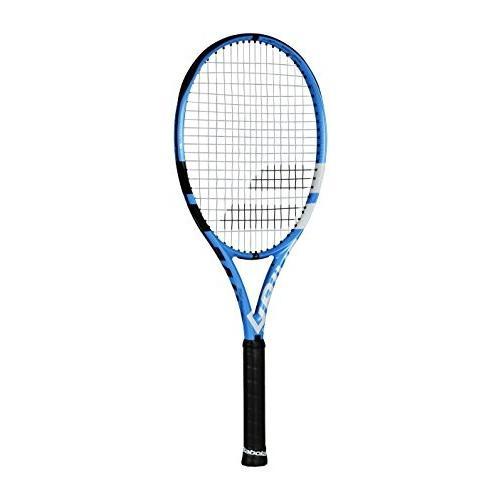 超美品の テニスBabolat Pure Drive Color 110 Extended (Be Oversized Blue Black/Blue/White Tennis Racquet (4 1/2