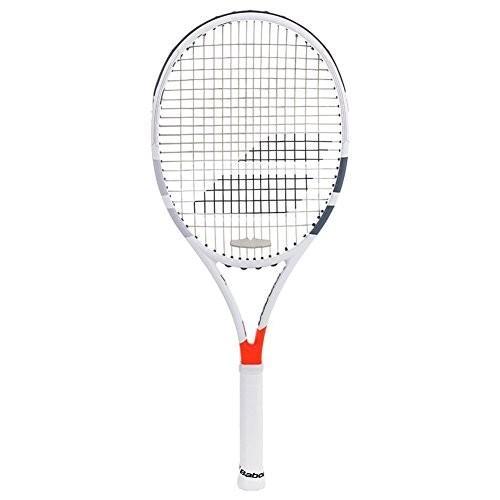 【即発送可能】 テニスBabolat Pure Strike Team Spiraltek Thie Gray SG/Orange Tennis Racquet (4 3/8