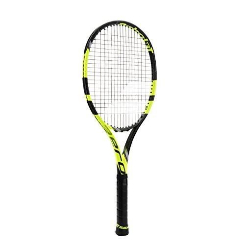 オープニング 大放出セール テニスBabolat Pure Aero VS Yellow/Black Tennis Racquet (4 1/8