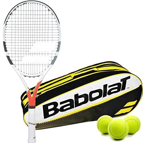 公式の  テニスBabolat Boost Strike Gray Boost/Orange/White Entry テニスBabolat 1/8