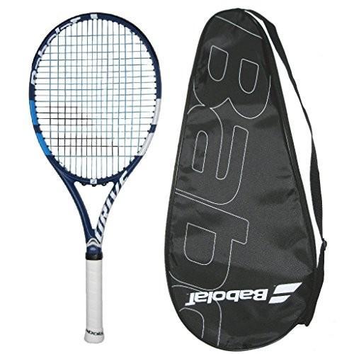 【超ポイント祭?期間限定】 テニスBabolat 2018 (4-1/8, Drive G Lite Tennis Cover Racquet - String) Strung with Color Choice - Cover (4-1/8, Black String), 【10%OFF】:225435bc --- airmodconsu.dominiotemporario.com