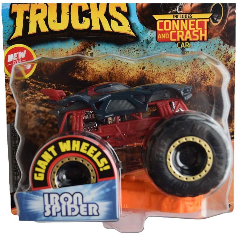 ホットウィール マテル ミニカー ggr61 Hot Wheels Monster Trucks 1:64 Scale Iron Spider Connect an maniacs-shop 02