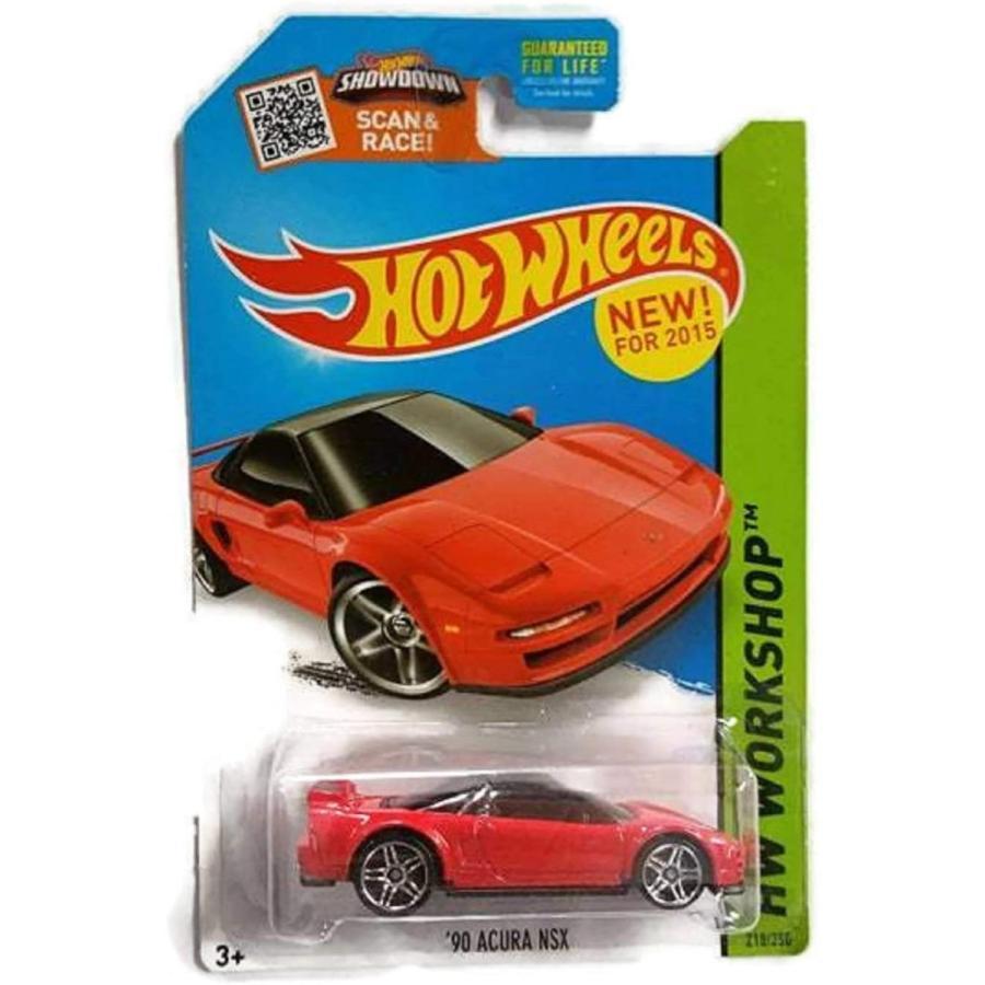 ホットウィール マテル ミニカー Hot Wheels '90 Acura NSX HW Workshop 2015 HW Garage 218/250|maniacs-shop