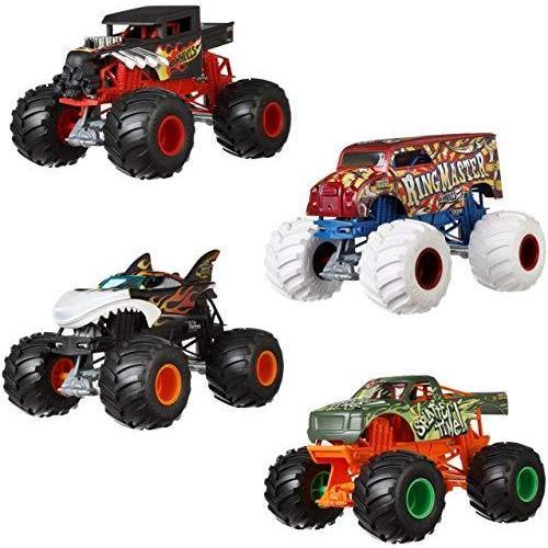 ホットウィール マテル ミニカー GCX16 Hot Wheels Monster Trucks Ring Master Vehicle|maniacs-shop