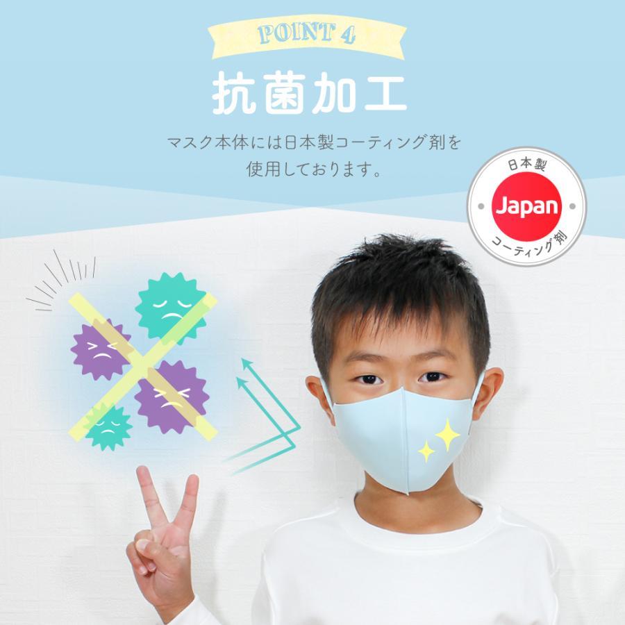 【2点目半額クーポン】子供用マスク 安心 2重マスク 2歳から成人まで使える小さめマスク 洗える ウレタンマスク 不織布 フィルター|manjiro|12