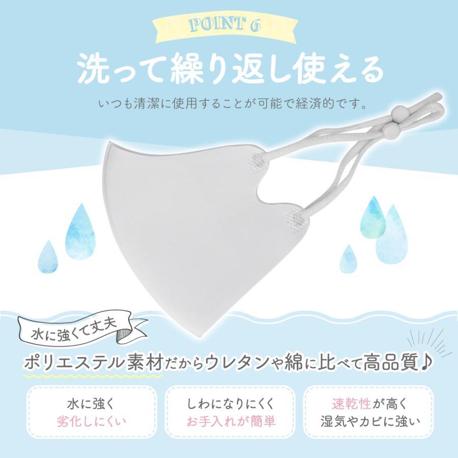【2点目半額クーポン】子供用マスク 安心 2重マスク 2歳から成人まで使える小さめマスク 洗える ウレタンマスク 不織布 フィルター|manjiro|14