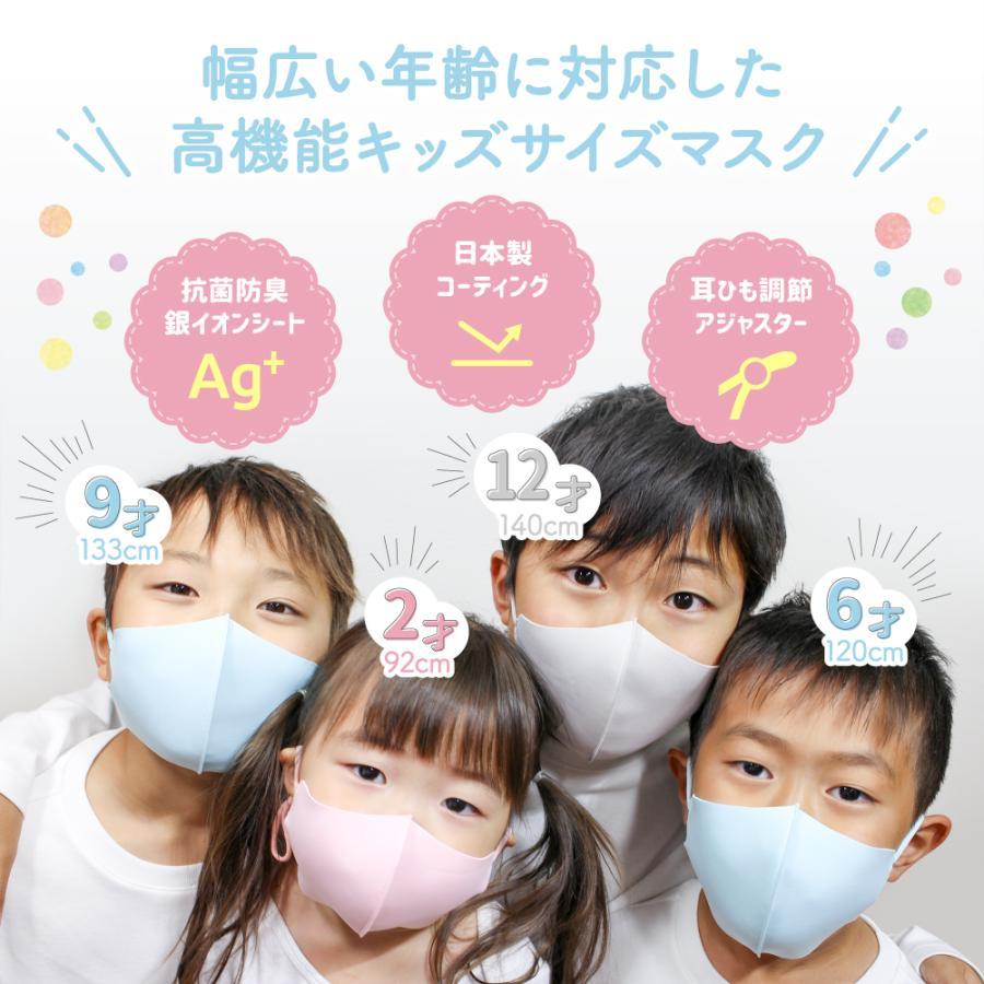 【2点目半額クーポン】子供用マスク 安心 2重マスク 2歳から成人まで使える小さめマスク 洗える ウレタンマスク 不織布 フィルター|manjiro|03