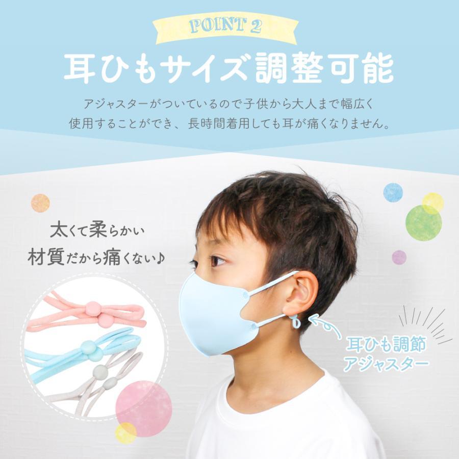 【2点目半額クーポン】子供用マスク 安心 2重マスク 2歳から成人まで使える小さめマスク 洗える ウレタンマスク 不織布 フィルター|manjiro|10