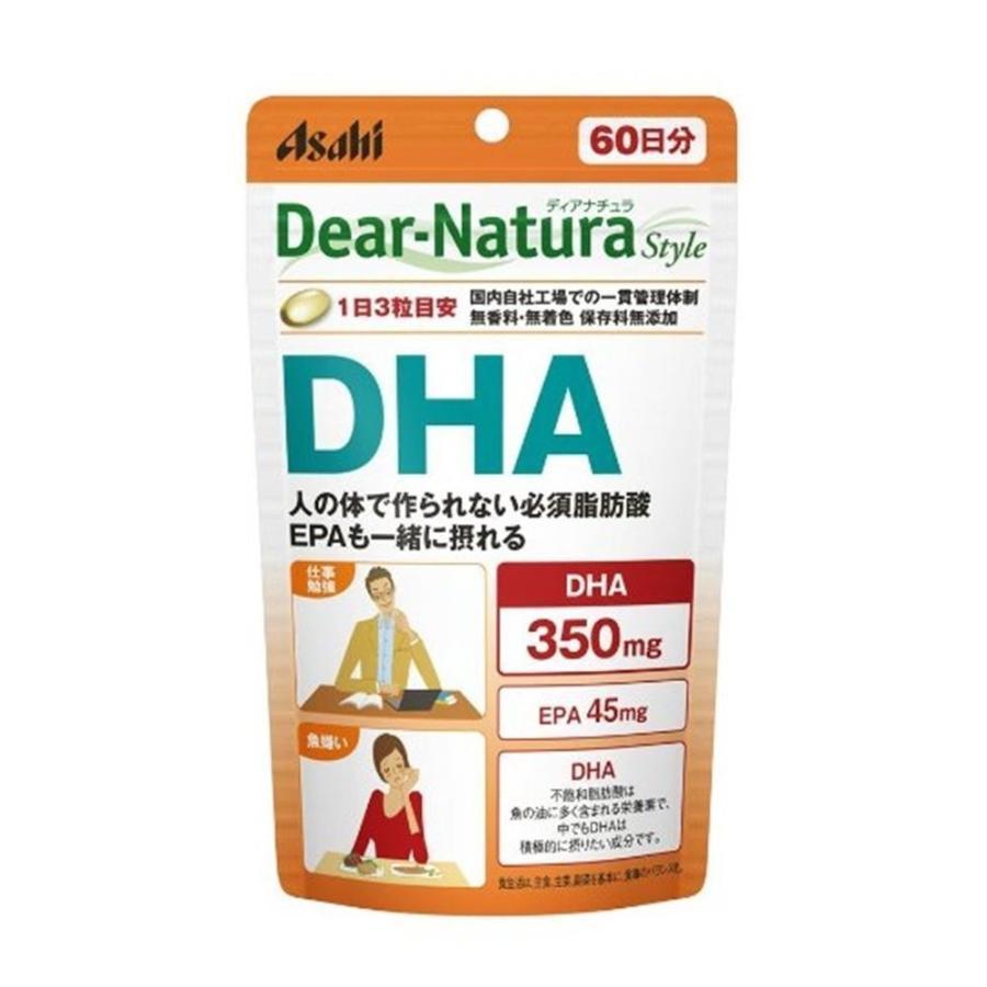 送料無料!メール便 ディアナチュラスタイル DHA 180粒 (60日分) manmaru-store