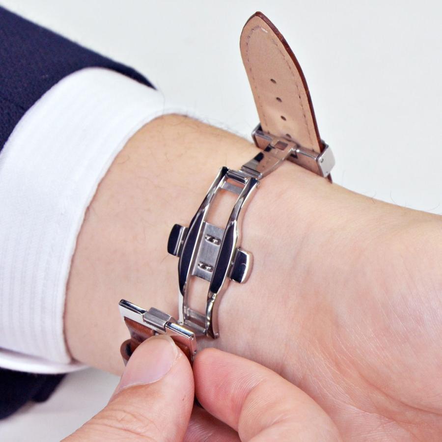 腕時計ベルト バンド  イタリア モレラート ワンタッチプッシュ式 Dバックル DEPLOJANTE/PB2 (ディプロヤンテピービーツー)  PB2 90800715 16mm 18mm 20mm|mano-a-mano|07