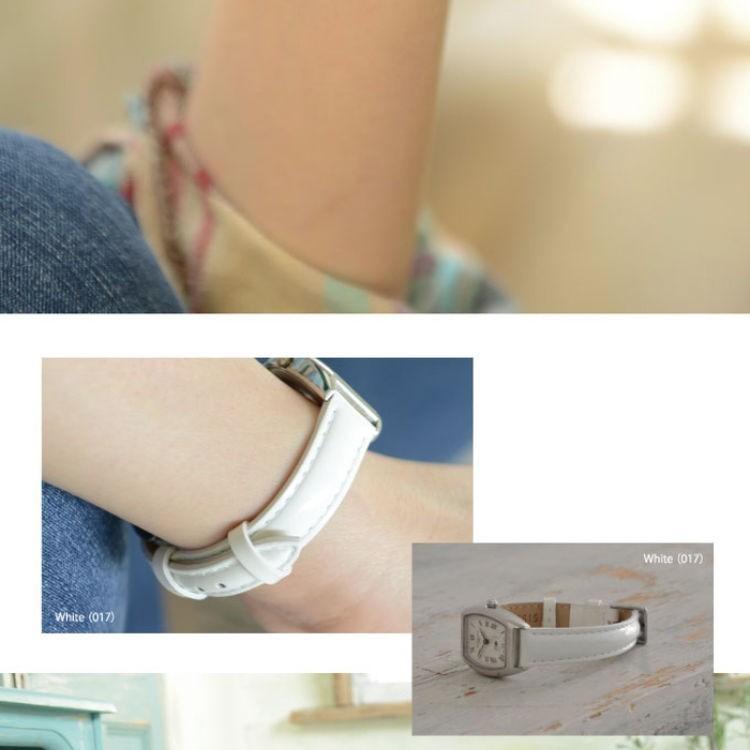 腕時計ベルト バンド レディース 交換 牛革 14mm 13mm CASSIS DONNA Enamel Calf D0000308|mano-a-mano|07