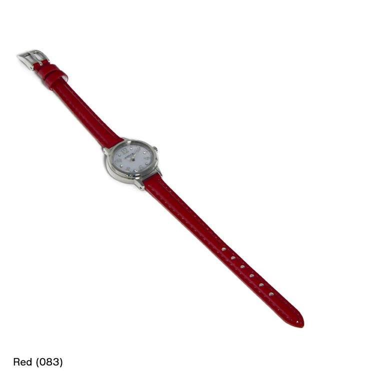 シチズン ウィッカ用 CITIZEN WICCA にぴったりの時計ベルト 牛革 DONNA Enamel Calf D0000308|mano-a-mano|04