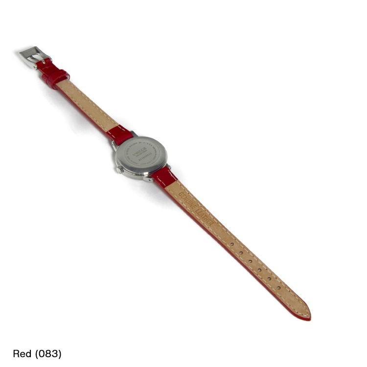 シチズン ウィッカ用 CITIZEN WICCA にぴったりの時計ベルト 牛革 DONNA Enamel Calf D0000308|mano-a-mano|05