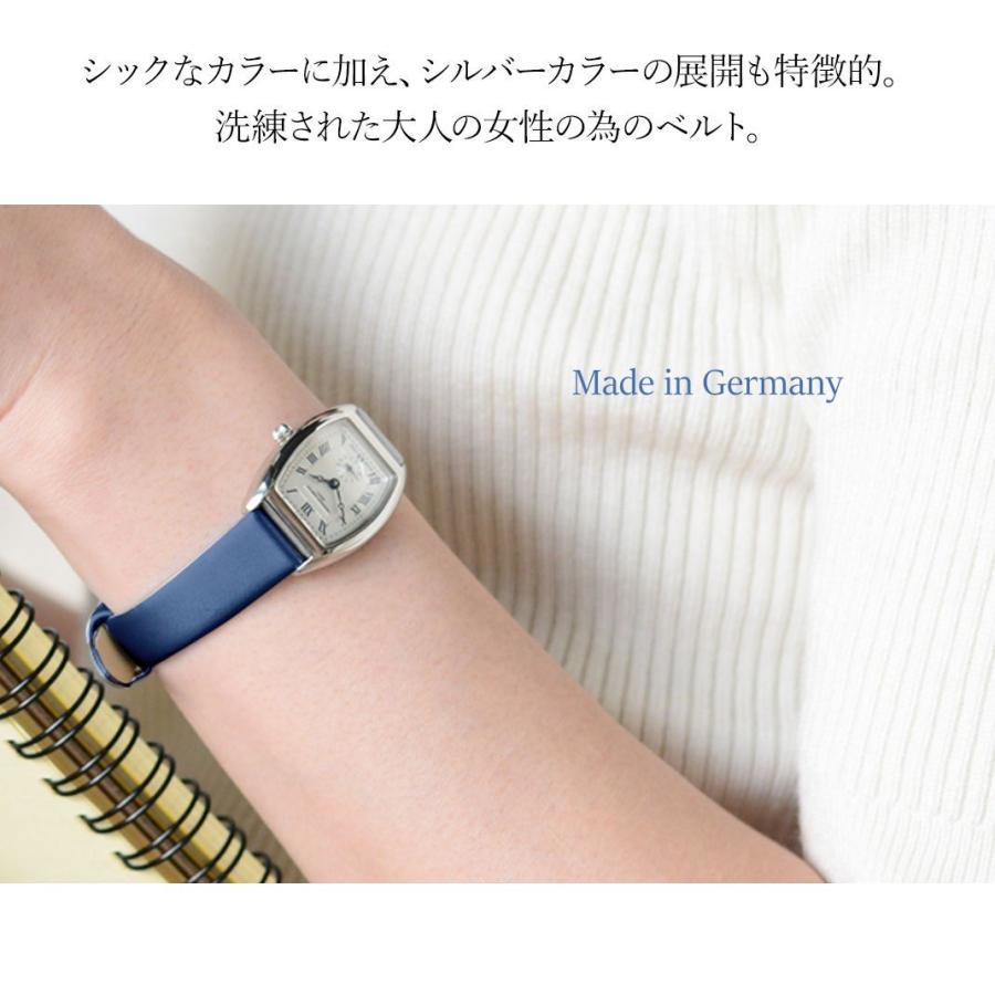 腕時計ベルト バンド レディース 交換 ファブリック 14mm 12mm CASSIS BERLIN D1094A74 mano-a-mano 05