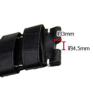 腕時計ベルト バンド 交換 牛革 メンズ パネライ用 24mm MORELLATO TIPO PNR44 U0003480 mano-a-mano 03