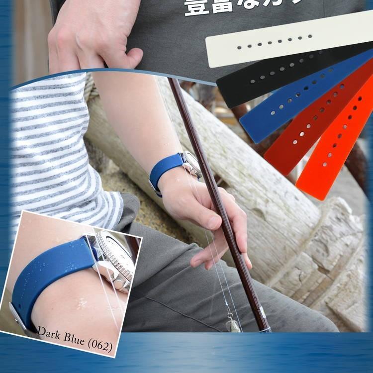 腕時計ベルト バンド 交換 シリコン メンズ 22mm 20mm 18mm CASSIS TROYES U0100465 mano-a-mano 08