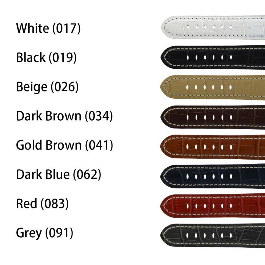 腕時計ベルト バンド 交換 牛革 パネライ用 24mm 22mm CASSIS TYPE PAN U1014008|mano-a-mano|02