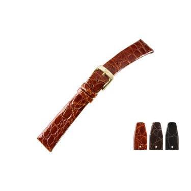 時計 ベルト 腕時計ベルト カイマンワニ U1085 16mm 18mm 20mm 時計 バンド 時計バンド 替えベルト 替えバンド ベルト 交換|mano-a-mano