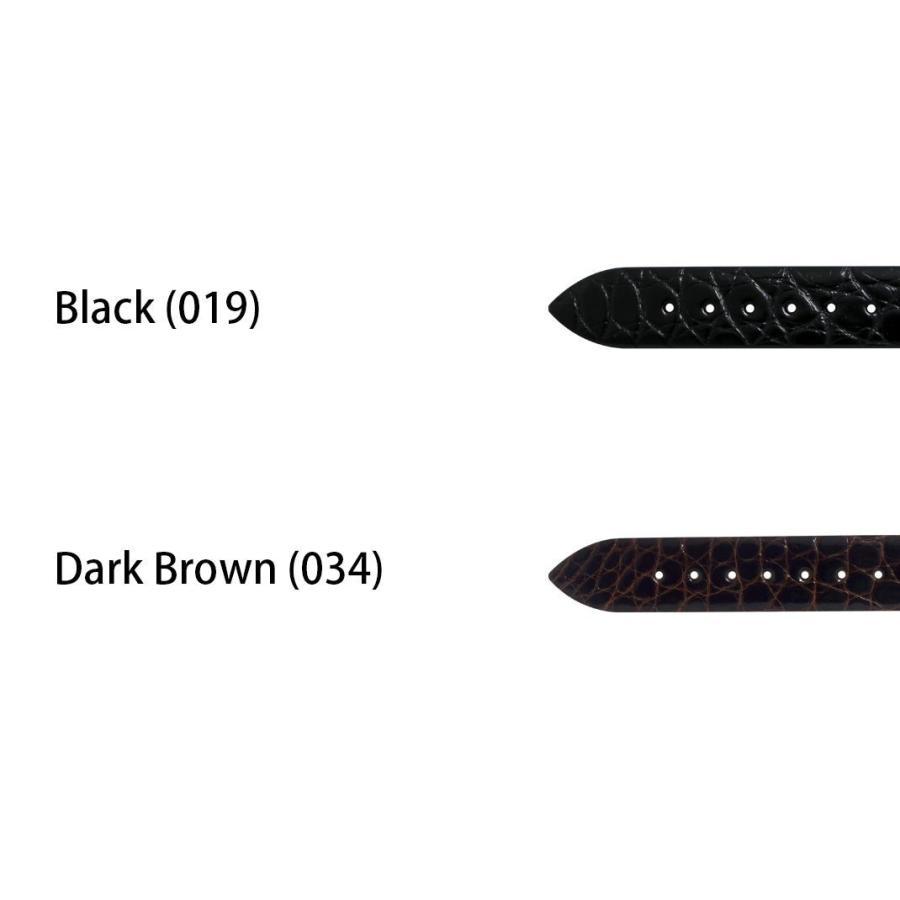 腕時計ベルト バンド 交換 ワニ革 19mm 18mm 17mm 13mm 12mm CASSIS RIOM C U1123B68|mano-a-mano|02