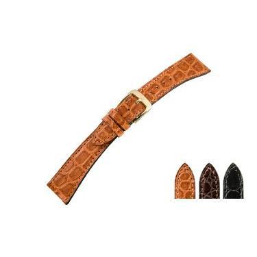 時計 ベルト 腕時計ベルト カイマンワニ U1890 18mm 19mm 20mm 時計 バンド 時計バンド 替えベルト 替えバンド ベルト 交換|mano-a-mano