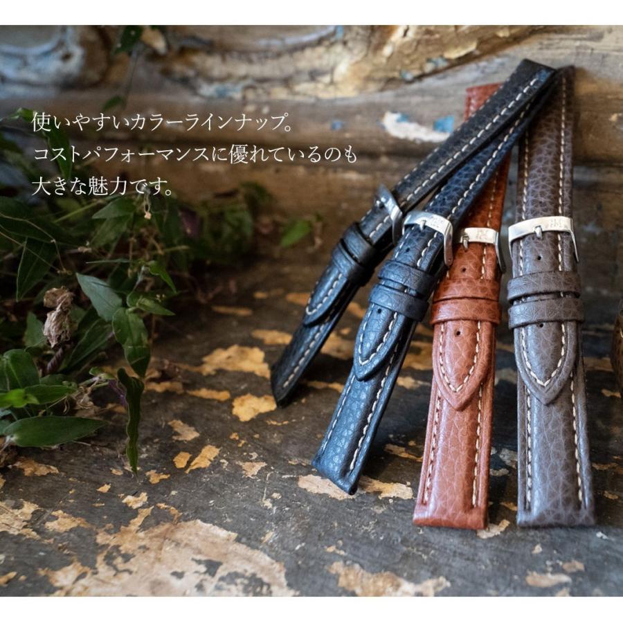 腕時計ベルト バンド 交換 牛革 メンズ 24mm 22mm 20mm 18mm MORELLATO KUGA U3689A38|mano-a-mano|07