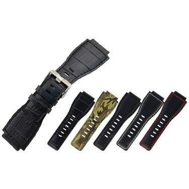 腕時計ベルト バンド 交換 牛革 ベル&ロス用 24mm CASSIS TYPE BAR001 UBBAR001|mano-a-mano