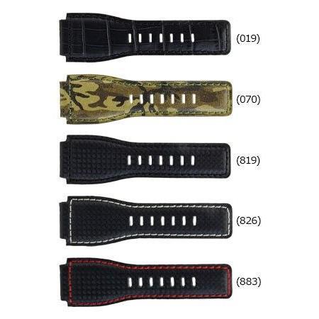 腕時計ベルト バンド 交換 牛革 ベル&ロス用 24mm CASSIS TYPE BAR001 UBBAR001|mano-a-mano|02