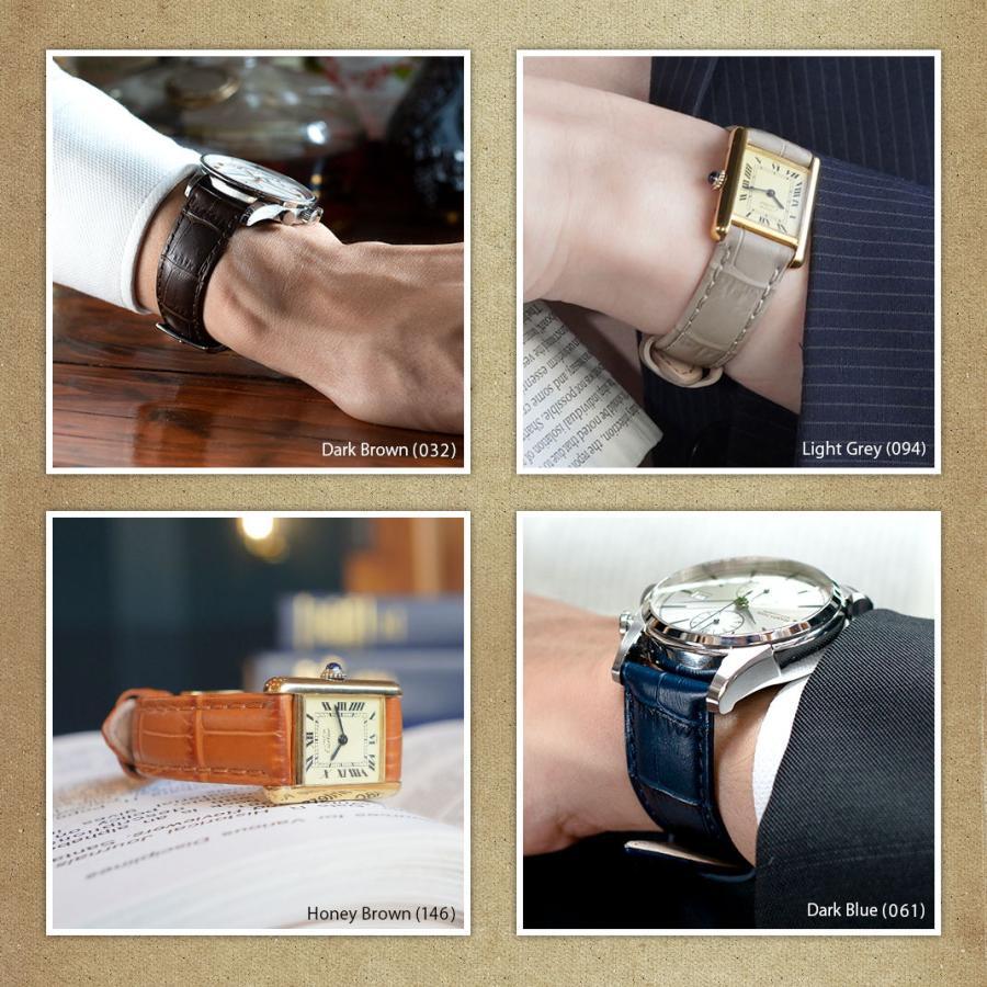 腕時計ベルト バンド 交換 牛革 24mm 22mm 21mm 20mm 19mm MORELLATO BOLLE X2269480|mano-a-mano|09
