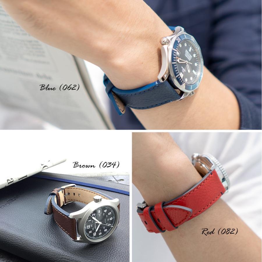 腕時計ベルト バンド 交換 カーフ 24mm 22mm 20mm 18mm MORELLATO PARAGLIDING X5394D14|mano-a-mano|08